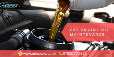 Opt For Car Service In Dorking And Get Engine Oil Maintenance