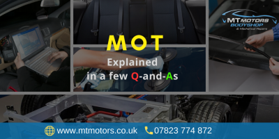Principal Considerations before the Next MOT of Your Vehicle in 2020