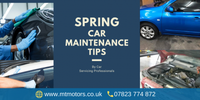 4 Spring Auto Maintenance Tips By Car Servicing Professionals