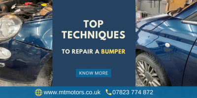 Talk on the Top Techniques to Repair a Bumper