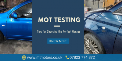 Tips on Choosing a Garage for Your Next MOT and Other Servicing